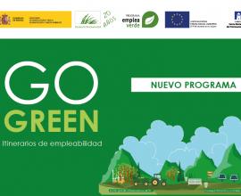 """Asturias y Castilla y León contarán con 8 Itinerarios de Empleabilidad  """"Go Green"""" para mejorar la inserción laboral de 150 personas en desempleo"""