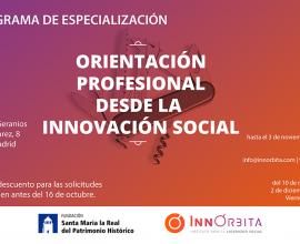 InnÓrbita lanza un nuevo programa formativo para orientadores laborales